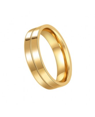 Men\'s Steel Lovers Gold-Plated Rings 01191 Personality Gifts Jewelry