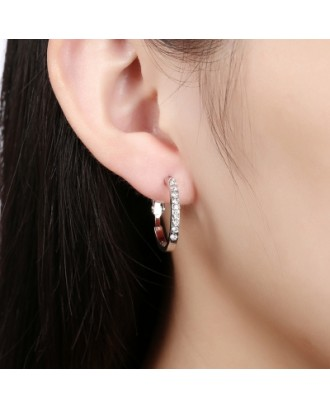 Fashion Jewelry Environmental Protection Round Shape Earrings
