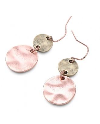 Alloy Coin Earrings